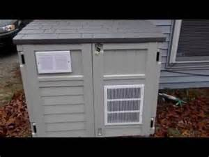 home built enclosure for portable generator