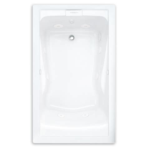 evolution tub evolution 60x32 inch soak everclean whirlpool