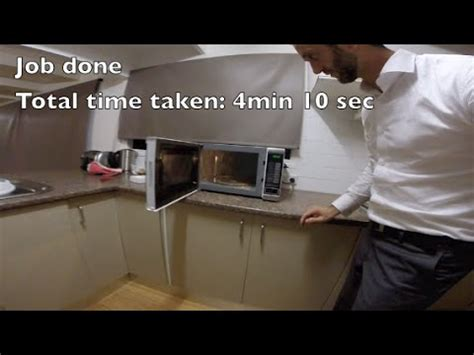 replace  microwave bulb   minutes  seconds youtube