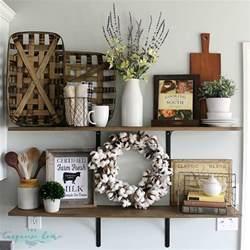 bathroom shelves decorating ideas decorating shelves in a farmhouse kitchen