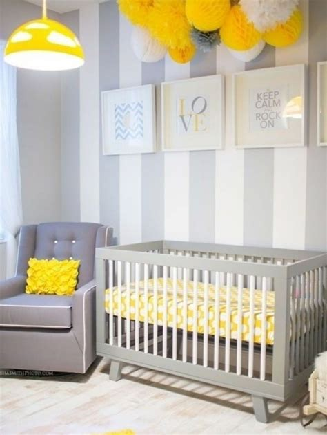 chambre bébé gris et blanc la peinture chambre bébé 70 idées sympas