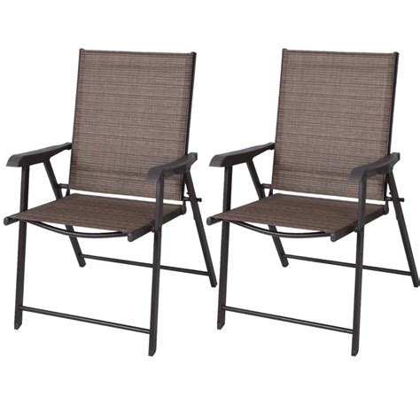 Outdoor Balcony Chairs by Aliexpress Buy Set Of 2 Outdoor Patio Folding Chairs