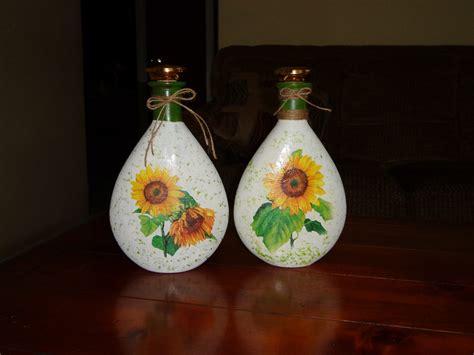 ideas country  algo mas botellas decoradas  decoupage