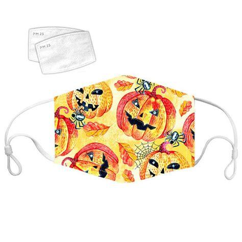 halloween party masks pumpkin skull  printed anime
