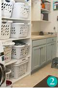10 Ways To Organize Your Home With Shelving Get Organized In 2012 15 Ways To Organize Your Laundry Room Organizing Simple Laundry Laundry Shelves Organized Laundry Rooms Above Laundry Machines Caplan 39 S Bins Shelf Countertop Cabinets