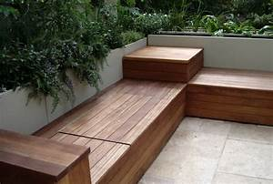 Outdoor Bench Seating With Storage Plans