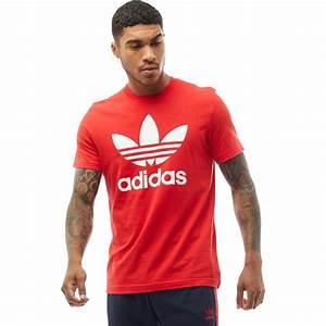 Tee Shirt Adidas Original Homme : adidas originals tee shirt trefoil homme rouge ~ Melissatoandfro.com Idées de Décoration