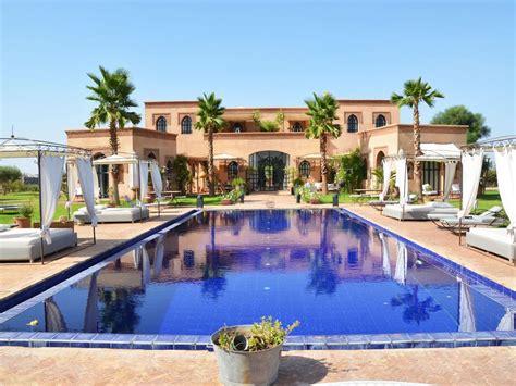 tour des chambres villa avec piscine spa palais des anges marrakech 7