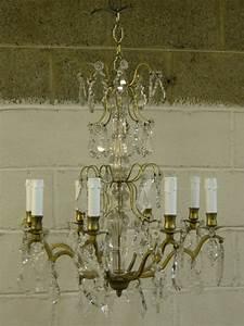 Antique chandelier restoration furniture