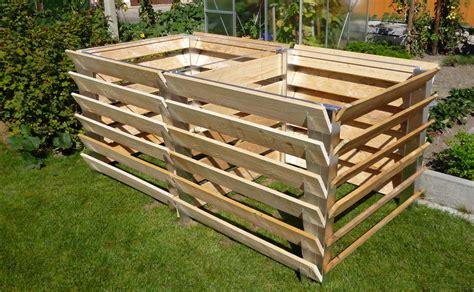 Komposter Selber Bauen Holz by Einsatzbereiche Lignum Linearis
