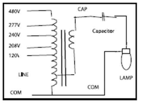 Watt Metal Halide Ballast Wiring Diagram
