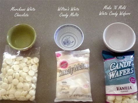 melting candy wafers test pint sized baker