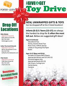 Holiday Toy Drive Flyer Template 2011 Give Get Toy Drive Justj03