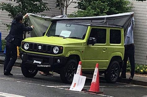 2019 Suzuki Jimny Makes Appearance At Paris Motor Show