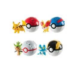 2381 pokemon figurine throw n pop poke ball assortiment x4