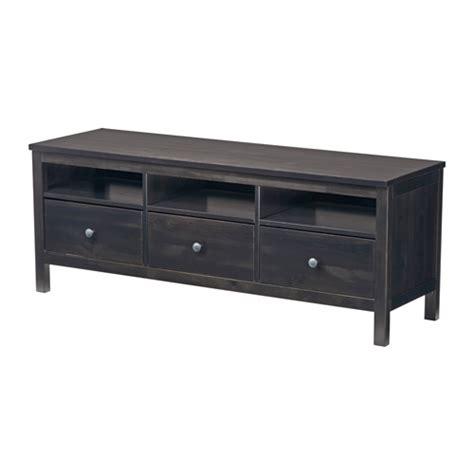 ikea black tv cabinet hemnes tv unit black brown ikea