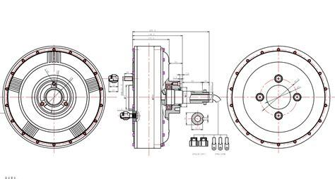 Qs273 8000w 50h Electric Car Hub Motor V2 Type