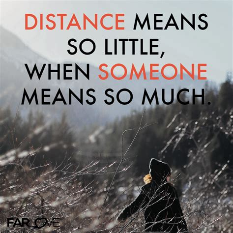 distance means so when someomne means so much
