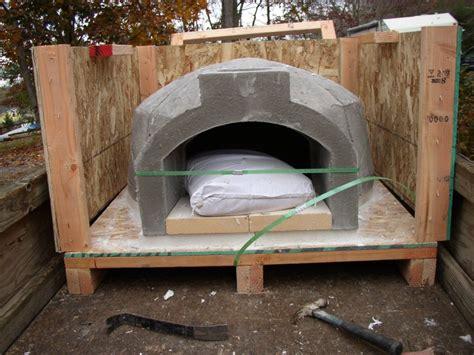 wood burning brick oven plans plans