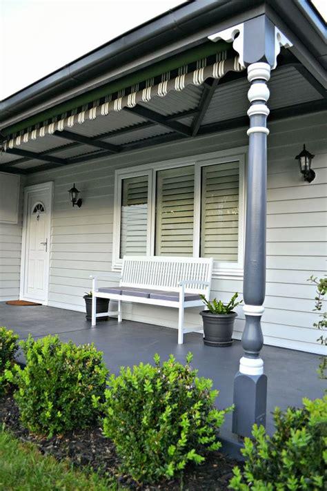 25 ideas destacadas sobre front verandah en casa de listones listones de exterior y