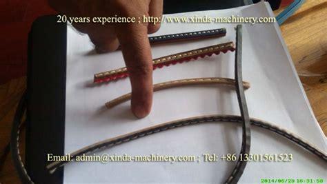 pvc tpr shoe welt making machine xinda machinerypvc foam board production linepvc marble