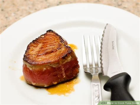 how do you cook tuna simple ways to cook tuna steak wikihow