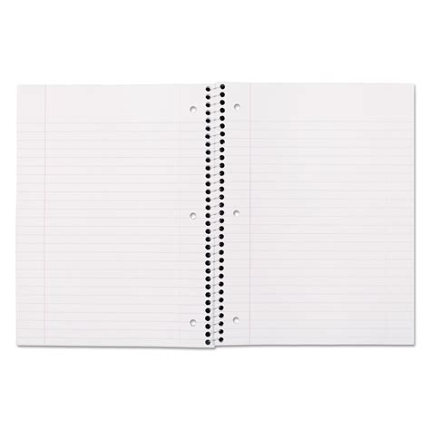 8x10 Resume Paper Staples by Spiral Bound Notebook By Mead 174 Mea05510 Ontimesupplies