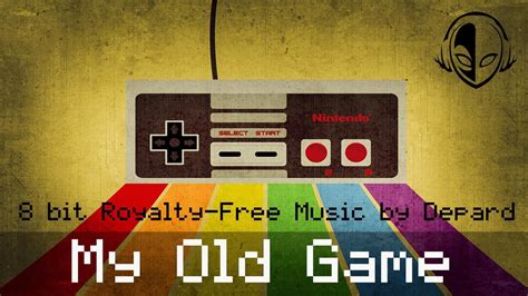 depard   game retro bit video games background