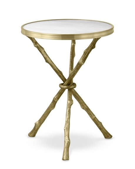faux marble table l faux bois accent table with marble top williams sonoma