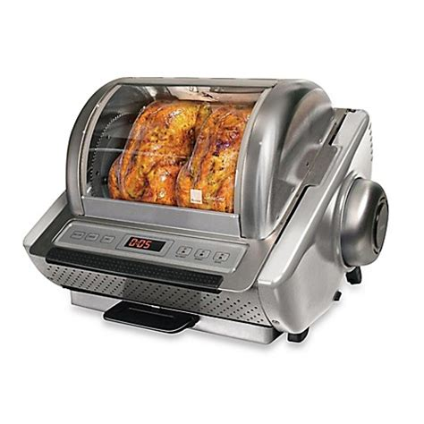 top wedding registry ronco ez store series rotisserie oven bed bath beyond