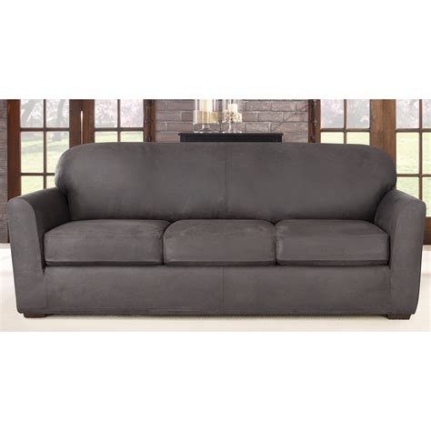 sure fit chair slipcovers sure fit stretch sofa slipcover reviews wayfair