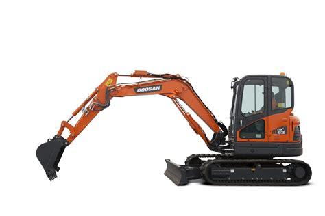 doosan dx  mini excavator gordons construction
