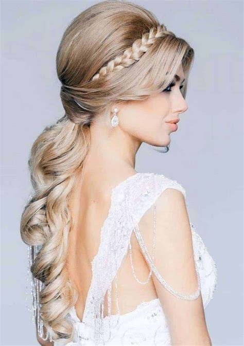 bridal hairstyles  long hair  women styles