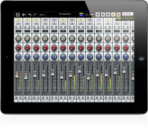ipad mixing desk app auria 48 track daw for ipad