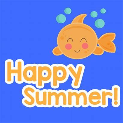 Summer Happy Very Cards Fish