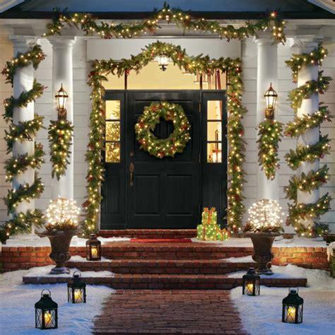 ideas  decorar columnas en navidad dale detalles