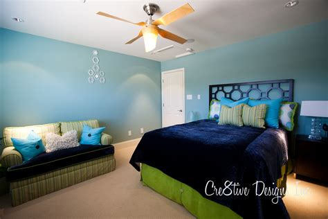 Blue And Green Bedroom Decorating Ideas  Home Design Interior