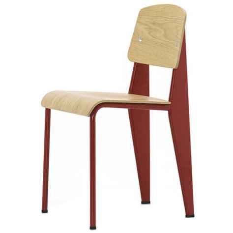 prouv 233 174 standard chair frame w oak vitra standard chairs