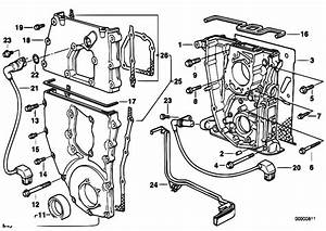 Original Parts For E36 318i M43 Touring    Engine   Timing Case