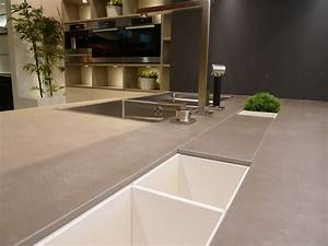 Neolith Cement - Contemporary - Kitchen - boston - by
