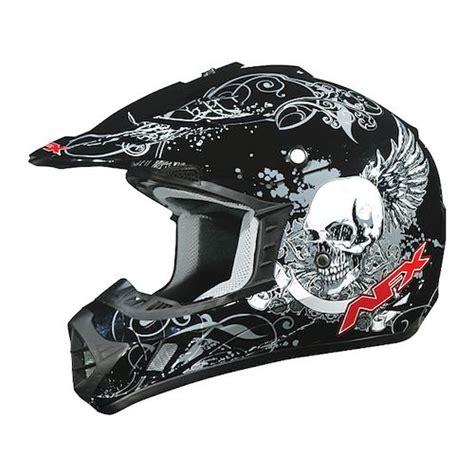 skull motocross helmet afx fx 17 skull helmet revzilla