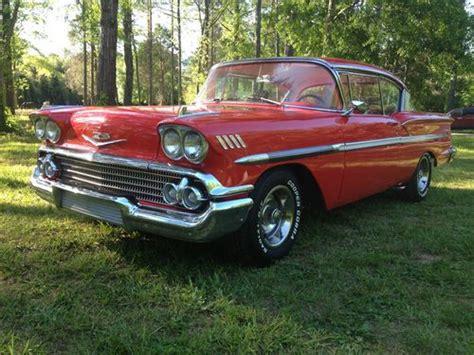 Sell Used 1958 Chevrolet Bel Air Base Hardtop 2door