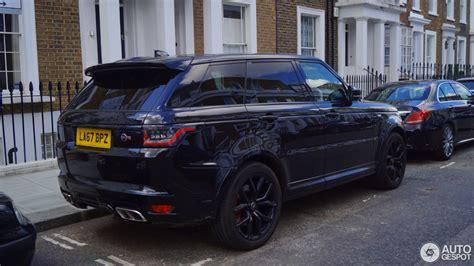 Range Rover Svr 2018 by Land Rover Range Rover Sport Svr 2018 10 Mei 2018