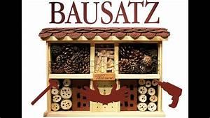 Bienenhotel Selber Bauen : insektenhotel bauen video bausatz landhaus komfort von luxus insektenhotels youtube ~ A.2002-acura-tl-radio.info Haus und Dekorationen