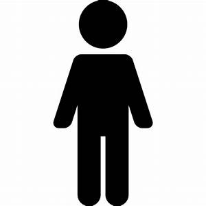 Man Standing Up - Free people icons
