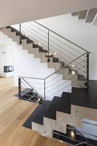 Holzstufen Auf Beton : die besten 17 ideen zu betontreppe auf pinterest treppen ~ Michelbontemps.com Haus und Dekorationen
