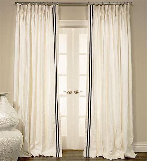 white curtains with navy trim ribbon trim curtains curtain menzilperde net
