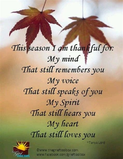 Missing Mom At Thanksgiving Quotes