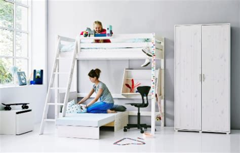 bureau 3 en 1 hoogslaper met kast 2 persoons hoogslaper glijbaan kidsgigant