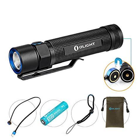 olight s2r baton le torche rechargeable puissante led cree 1020 lumens avec batterie 18650